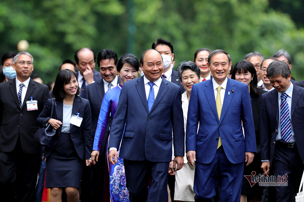 vietnam-japan relations,japanese PM suga,japan