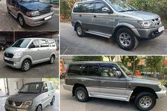 Những mẫu ô tô cũ 7 chỗ gầm cao giá chỉ bằng Honda SH nhập