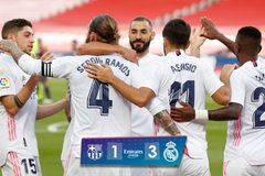 Real Madrid nhấn chìm Barca ngay tại Nou Camp