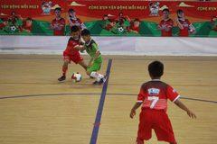 Xác định 8 đội vào tứ kết Giải bóng đá Nhi đồng toàn quốc