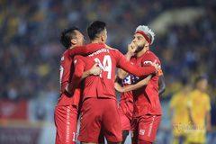 Video bàn thắng Nam Định 2-3 Hải Phòng