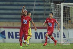 Hải Phòng trụ hạng khi thắng Nam Định 3-2, Quảng Nam còn cơ hội