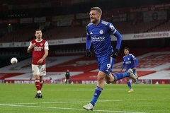 Xem video bàn thắng Arsenal 0-1 Leicester