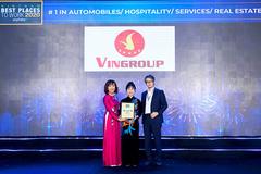 Vingroup - 6 lần liên tiếp vào top 100 Nơi làm việc tốt nhất Việt Nam