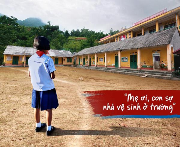 Hồi đáp mạnh mẽ với 'lời cầu cứu' nhà vệ sinh trường học