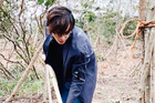 Hà Anh Tuấn trồng 1.800 cây rừng
