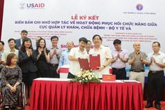 Bộ Y tế 'bắt tay' 8 tổ chức quốc tế về hoạt động phục hồi chức năng