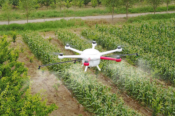 Homemade drones to determine crop health