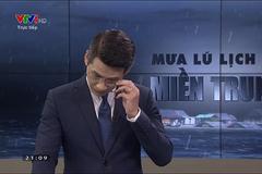 BTV Tuấn Dương lên tiếng 'sự cố' khi dẫn về mưa lũ trực tiếp VTV