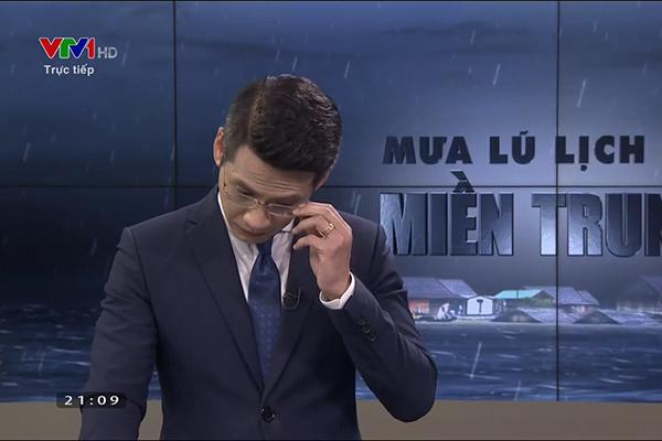BTV Tuấn Dương lên tiếng về 'sự cố' khi dẫn về mưa lũ trực tiếp VTV