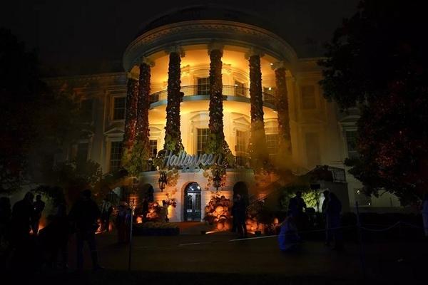 Hình ảnh Nhà Trắng trang trí đón lễ hội Halloween