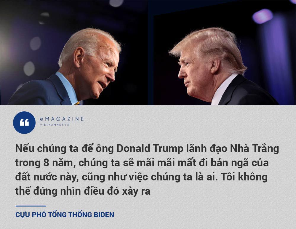 Joe Biden,Donald Trump,bầu cử Mỹ