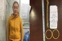Cặp đôi 5 lần dùng bạc mạ vàng lừa một tiệm vàng ở Sài Gòn