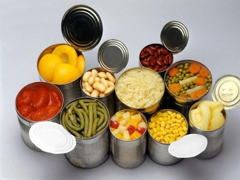 Tiềm ẩn nguy cơ ngộ độc từ thực phẩm đóng hộp