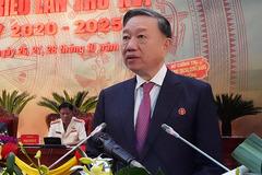 Đại tướng Tô Lâm: Cà Mau cần lựa chọn cán bộ dám làm, dám chịu trách nhiệm