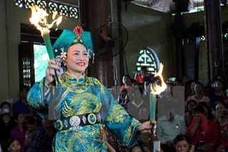 Festival honouring Vietnamese traditional ritual celebrated in Yen Bai