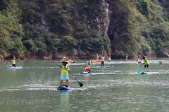 Rowers conquer Tu San canyon