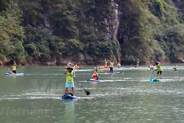Rowers conquer Tu San canyon