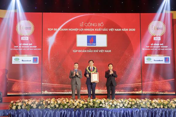 Petrovietnam dẫn đầu các doanh nghiệp lợi nhuận tốt nhất Việt Nam