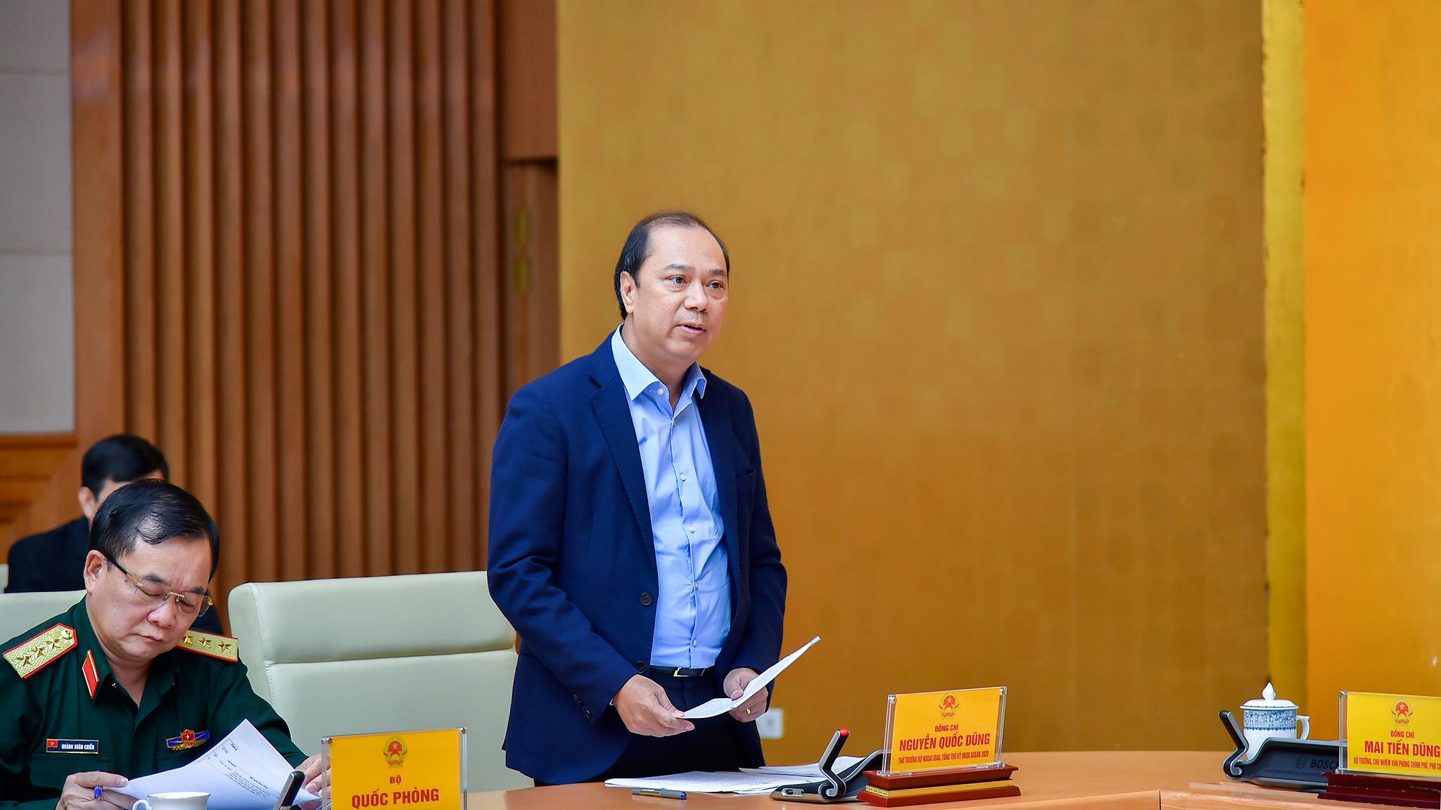 Rà soát công tác chuẩn bị hội nghị cấp cao ASEAN 37 tại Việt Nam