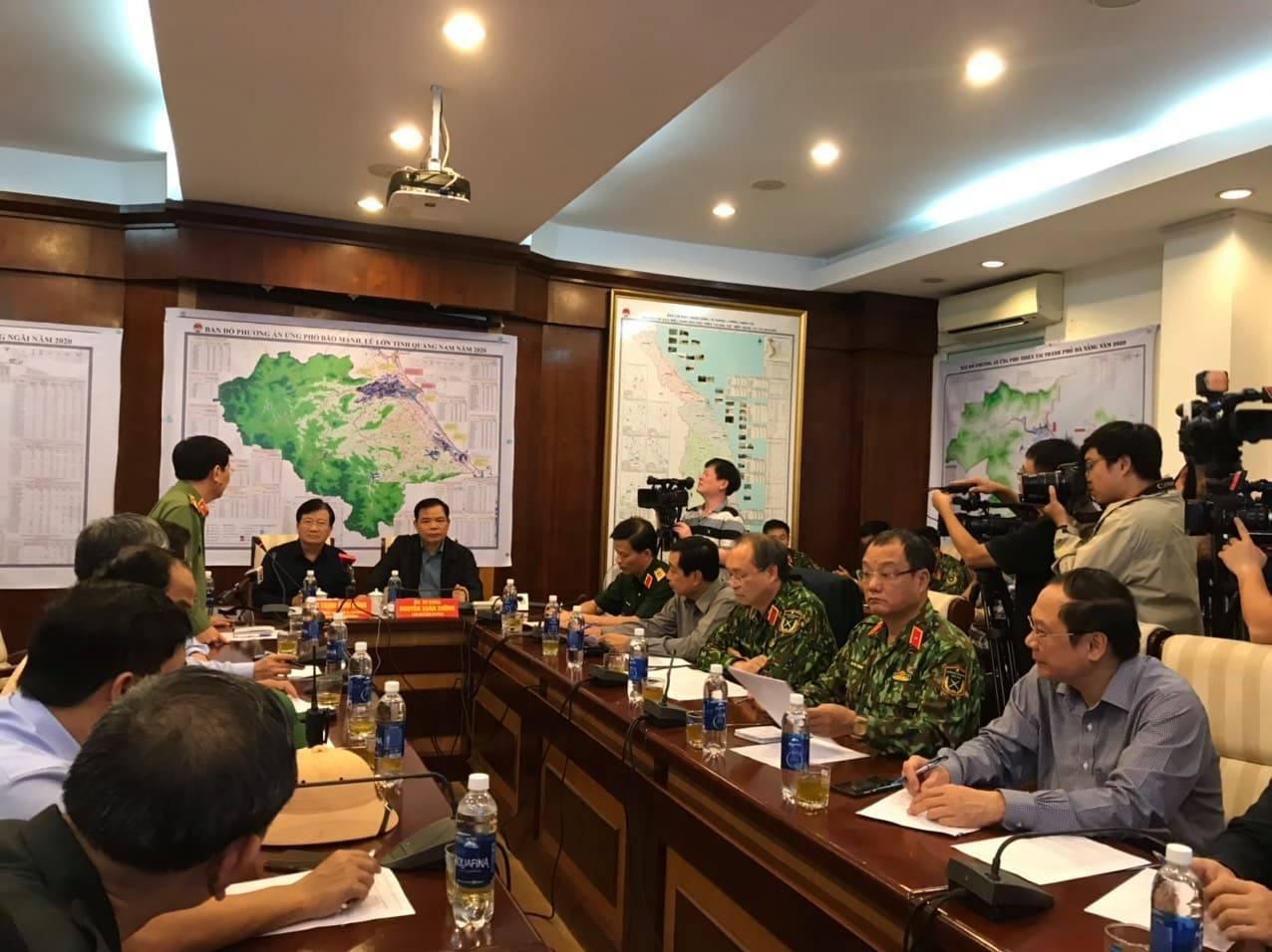 Bão số 9: Đà Nẵng, Quảng Nam, Quảng Ngãi mưa to