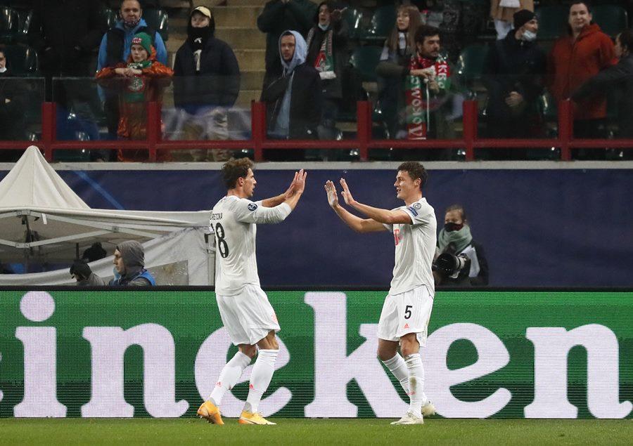 Bayern thắng nhọc Lokomotiv nhờ tuyệt phẩm của Kimmich
