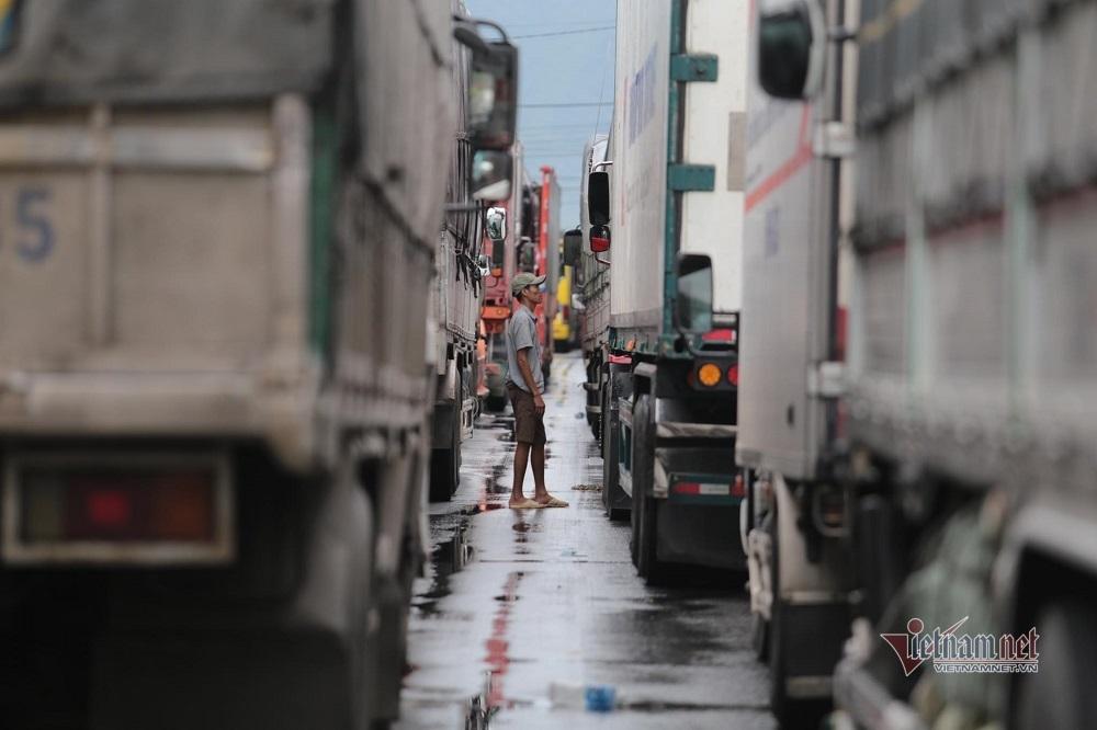 Quốc lộ qua tâm bão số 9 bị phong tỏa, nghìn xe tắt máy 'ngủ' giữa đường