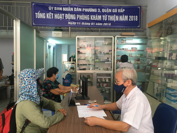 Nơi những bác sĩ không có lương, bệnh nhân được điều trị miễn phí