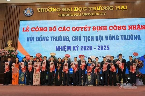PGS.TS Bùi Hữu Đức giữ chức Chủ tịch hội đồng trường ĐH Thương mại