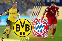 Lịch thi đấu bóng đá Bundesliga vòng 7: Dortmund đấu Bayern