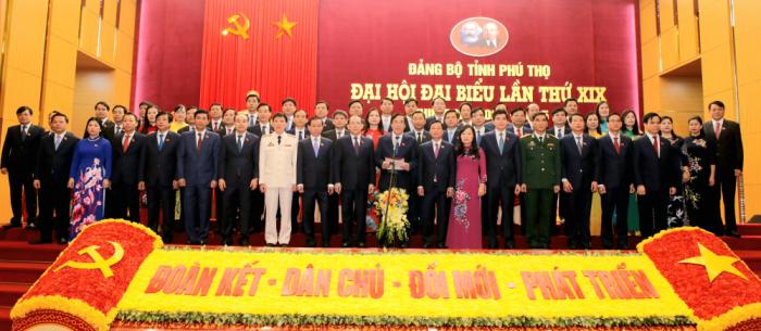 Ông Bùi Minh Châu tái đắc cử Bí thư Tỉnh ủy Phú Thọ