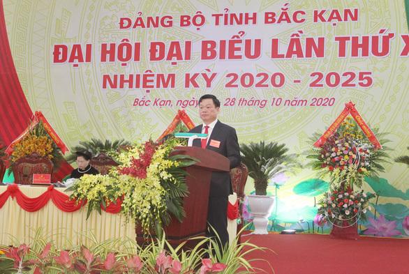 Ông Hoàng Duy Chinh được bầu làm Bí thư Tỉnh ủy Bắc Kạn