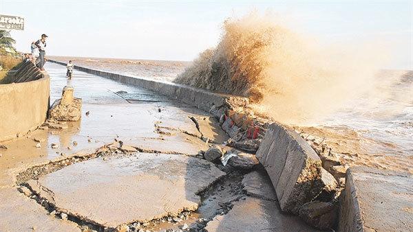 Land erosion worsens in the Mekong Delta