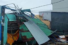 Bão số 9 giảm cấp gió, hơn 1.000 nhà tốc mái, nguy cơ lũ quét nhiều nơi