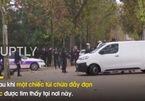Pháp sơ tán khẩn ở khu Khải Hoàn Môn vì cảnh báo bom