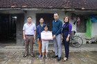 Trao hơn 154 triệu đồng cho 3 hoàn cảnh khó khăn ở Nghệ An