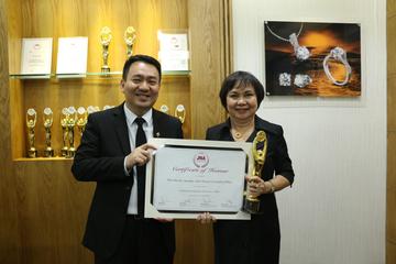 PNJ - doanh nghiệp xuất sắc nhất ngành kim hoàn châu Á - TBD