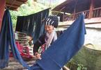 Lu ethnic women preserve brocade weaving
