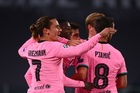 Juventus 0-1 Barcelona: Dembele mở tỷ số (H2)