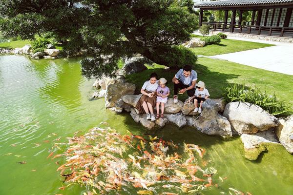 Cư dân có thể tận hưởng không gian trong lành, tươi mát tại Vinhomes Smart City