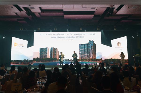 Dự án Master Waterfront ra mắt với đối tác đồng hành Hà Anh Tuấn