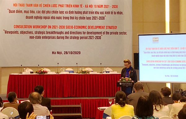 Private sector, non-State enterprises to be placed at heart of 10-year development strategy