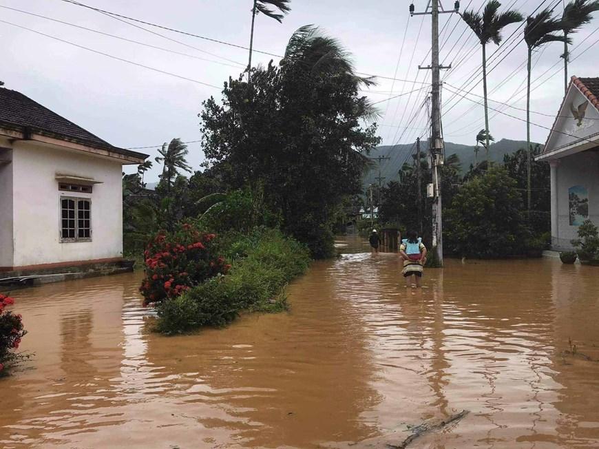 Typhoon Molave,central vietnam
