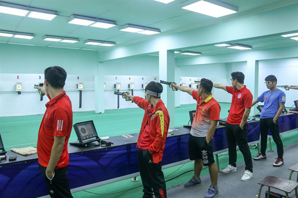 Vietnamese shooters aim for six goals at SEA Games