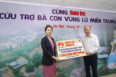 Huawei Việt Nam ủng hộ đồng bào miền Trung 1 tỷ đồng