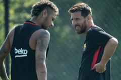 Messi muốn Chủ tịch mới của Barca tái ký Neymar