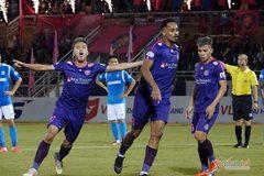 Hạ đẹp Quảng Ninh, Sài Gòn chiếm ngôi nhì V-League