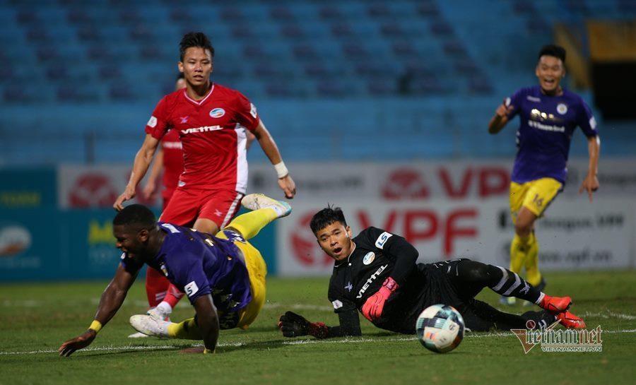 Viettel và Hà Nội chia điểm nghẹt thở ở derby Thủ đô