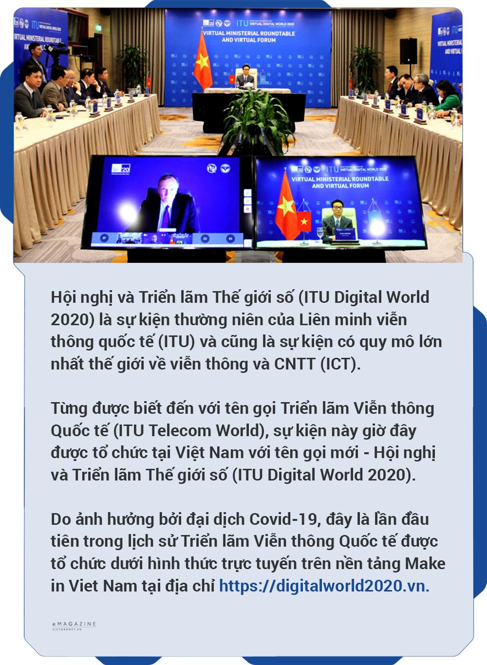 ITU Digital World 2020,Hội nghị và Triển lãm Thế giới số 2020