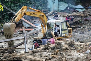 Helicopters to be used for Quang Nam landslide rescue